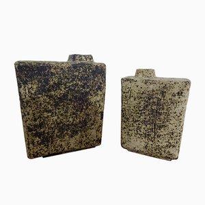 Keramikvasen von Pieter Groeneveldt, 1960er, 2er Set