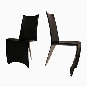 Dining Chairs by Philippe Starck for Driade, 1980s, Set of 2