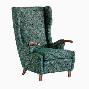 Italienischer Vintage Sessel von Pierluigi Colli für Colli Torino, 1940er