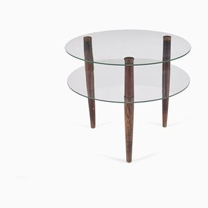 Glass Coffee Table by Palucci Enrico for Vitrex, 1930s