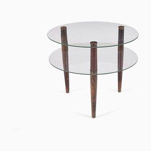 Table Basse en Verre par Palucci Enrico pour Vitrex, 1930s