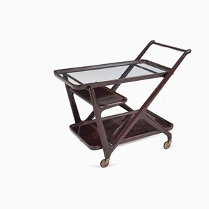 Glass Trolley from Cassina, 1950s
