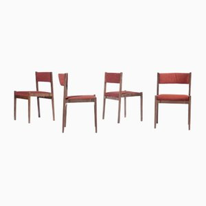 Model 105 Dining Chairs by Gianfranco Frattini for Cassina, 1950s, Set of 8