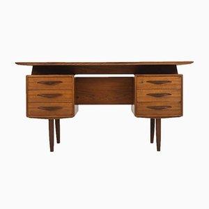 Vintage Teak Schreibtisch, 1960er