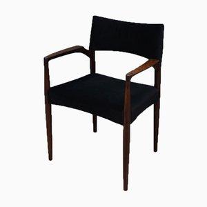 Mid-Century Scandinavian Rosewood Armchair