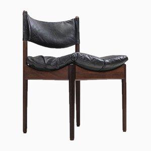 Rosewood Dining Chair by Kristian Vedel for Søren Willadsen Møbelfabrik, 1960s