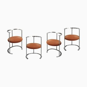 Catiline Stools by Luigi Caccia Dominioni for Azucena, 1958, Set of 4