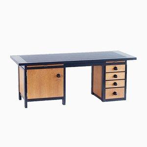Oak & Macassar Ebony Desk by Frits Spanjaard, 1932