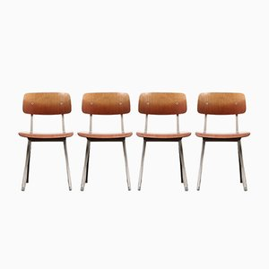 Result Chairs by Friso Kramer for Ahrend De Cirkel, 1963, Set of 4