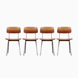 Result Stühle von Friso Kramer für Ahrend De Cirkel, 1963, 4er Set