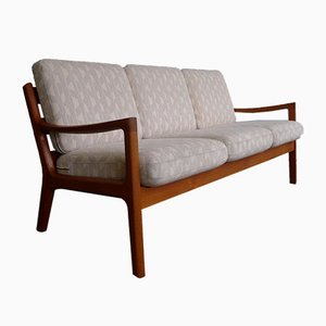 Mid-Century Danish Teak Model 166 Senator Sofa by Ole Wanscher for Cado, 1950s