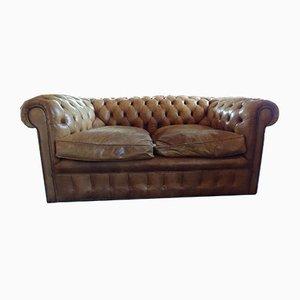 Vintage Chestfield 2-Seat Sofa