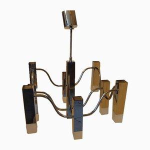 Deckenlampe von Gaetano Sciolari für Boulanger, 1970er