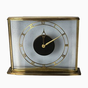 Brass & Bronze Clock, 1950s