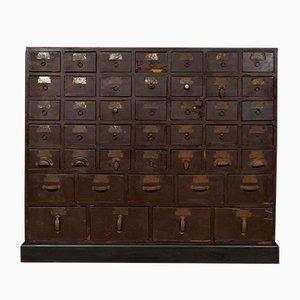 Mid-Century Industrial Cabinet