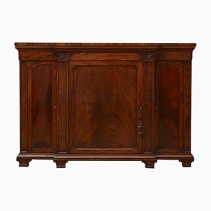 Antikes William IV Sideboard aus Mahagoni
