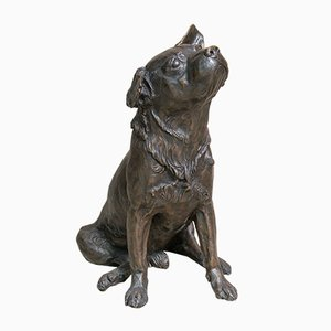 Puppy Sculpture by Franz Canins, 1970s