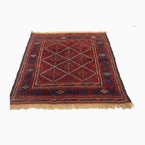 Vintage Afghan Woolen Mushvani Rug, 1950s