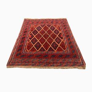 Afghanischer Mid-Century Mushvani Wollteppich, 1950er