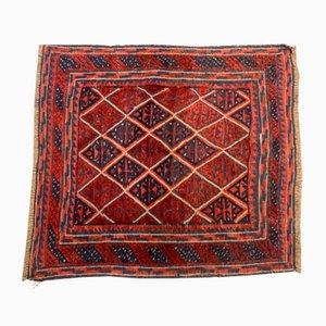 Mid-Century Afghan Woolen Mushvani Rug, 1950s