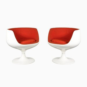 Cognac Chairs by Eero Aarnio for Asko, 1960s, Set of 2