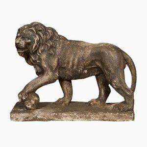 Vintage Stone Lions, Set of 2