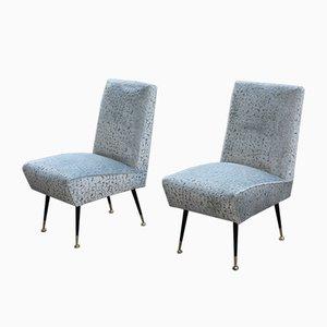 Italian Lounge Chairs by Gigi Radice for Minotti, 1950s, Set of 2