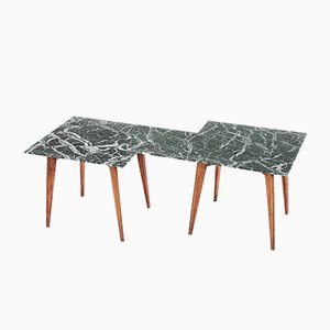 Italian Marble Geometric Coffee Table by Gio Ponti, 1940s