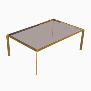 Italian Minimalistic Coffee Table by Bontempi, 1970s