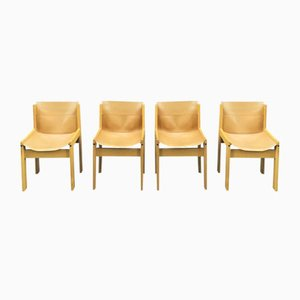 Vintage Italian Dining Chairs from Ibisco, Set of 4