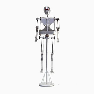 Dekoratives Aluminium Roboter Skelett