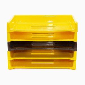Gelber Modell Eva Schreibtisch von Raymond Loewy für Armor