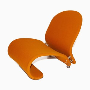 Model 1-2-3 System Lounge Chair by Verner Panton
