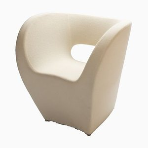 White Little Albert Armchair by Ron Arad for Moroso, 2000s