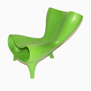 Green Orgone Chair by Marc Newson