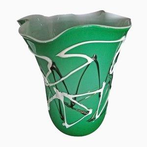 Grüne Vase von Sergio Costantini