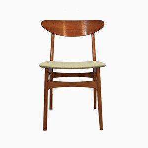 Dänische Teak Esszimmerstühle von Falsled Møbelfabrik, 1960er, 4er Set