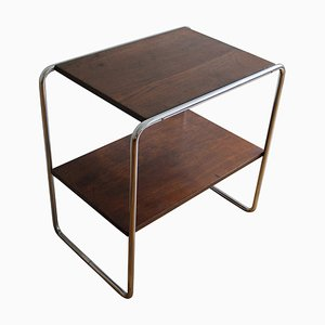 Vintage Modernist Tubular Side Table from Kovona