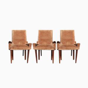 Italian Lounge Chairs by Paolo Buffa, 1940s, Set of 6