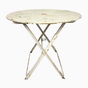 Französischer Mid-Century Tisch aus Eisen