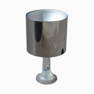 Italienische Tischlampe aus Plexiglas & Stahl von Guzzini, 1960er