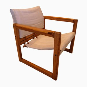 Pine Safari Armchair by Karin Mobring for Ikea, 1972