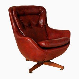 Vinyl & Teak Egg Chair from G-Plan, 1960s