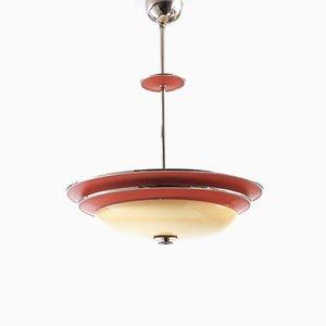 Vintage Deckenlampe von Erik Tidstrand für Nordiska Kompaniet, 1930er