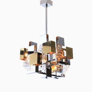 Mid-Century Italian Ceiling Lamp by Gaetano Sciolari, 1960s