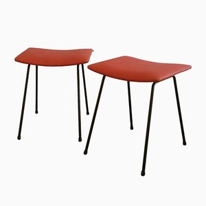 Mid-Century Stools by Willem Hendrik Gispen for Kembo, 1950s, Set of 2