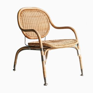 Rattan Model Nätön Lounge Chair by Mats Theselius for Ikea, 2000s