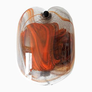 Danish Glass Sconce by Per Lütken for Holmegaard, 1970s