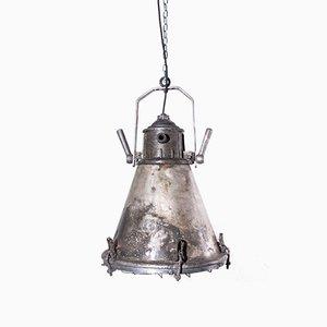 Vintage Industrial Ships Ceiling Lamp, 1960s