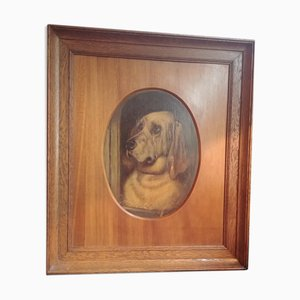 Dog Portrait Ölgemälde
